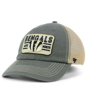 294891071ee  47 Brand Cincinnati Bengals Sallana Mesh Clean Up Cap - Blue Adjustable.