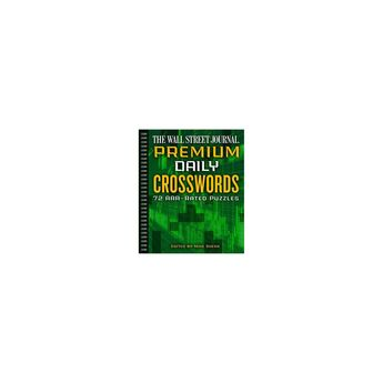 The Wall Street Journal Premium Daily Crosswords - (Wall Street Journal Crosswords) (Paperback)