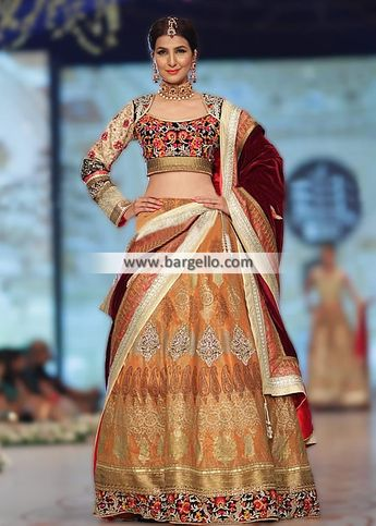 59a0bb2efb Dazzling Bridal Lehenga Collection Richardson Texas USA Deepak Perwani  Bridal Collection Complete