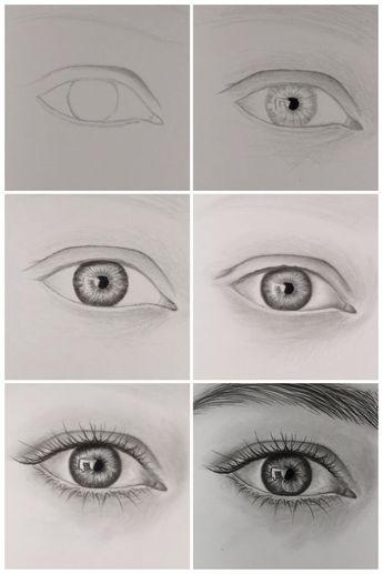 Comment dessiner des yeux réalistes, étape par étape – YouTube