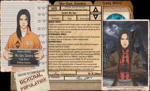 Arkham Files - Lady Shiva by Roysovitch