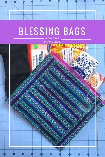 Blessing Bags with a Crafty Twist