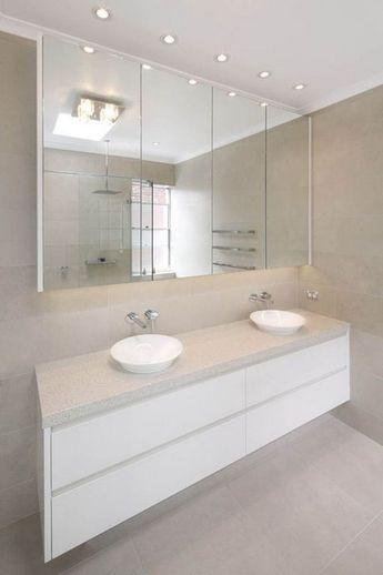 44 Nice Ideas For Bathroom Cabinet Designs