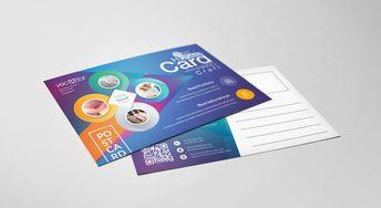 Excellent Professional Elegant Postcard Template - Graphic Templates