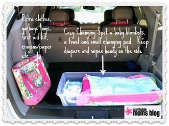 Diaper Bag packing tips