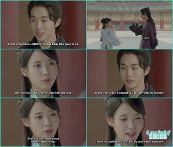 baek ah cried on woo hee - Moon Lovers Scarlet Heart Ryeo -