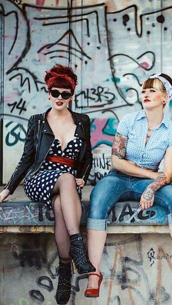 femmes tatouee rockabilly