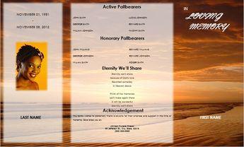 funeral program template men funeral card funeral bookle