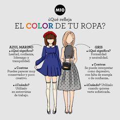 ¿¿Los colores de tu ropa hablan de ti??