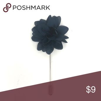 Flower Pin Lapel Pin   Styling tip: Gentlemen should always wear their pin on the left lapel of their jacket The Debonair Club Accessories