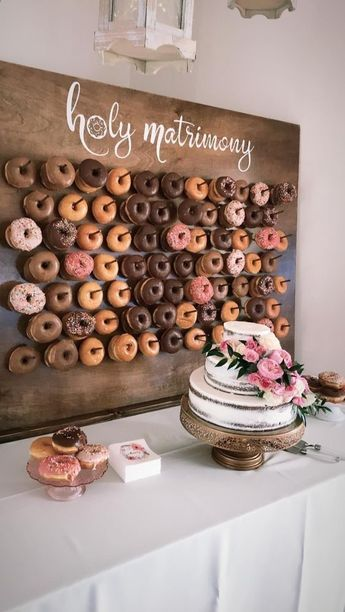 34 Mouth-watering Wedding Dessert Table Ideas