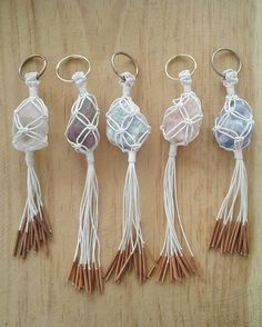 Resultado de imagen para macrame keychains We are want to say thanks if you like to share this post to another people via your facebook, pinterest, google plus or twitter account. Right Click to save picture or tap and hold for seven second if you are using iphone or ipad. Source by :...