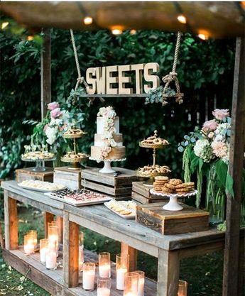 34 Mouth-watering WeddingDessert Table Strategies