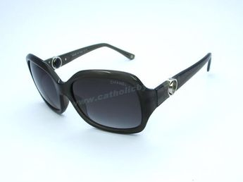 b00156341c 2014 Authentic Chanel 5147 Gray Transparent Frame Grey Lens Sunglasses  Outlet Canada For Sale