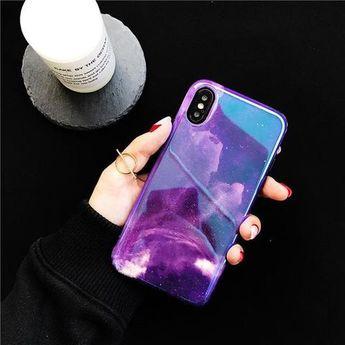 Jenny Solid purple iPhone Case