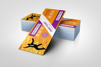 Dance Party Event Ticket Template - Graphic Templates