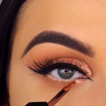 Beautiful by @makeupbyserenacleary 😍