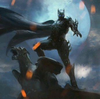 [ANIM8] Featuring the Lab's latest ANIM8 Series ~ The Dark Knight ~ Batman.