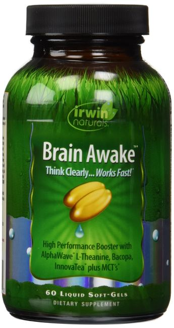 Irwin Naturals Brain Awake 60 Count *** Check this awesome product by going to the link at the image. (This is an affiliate link)