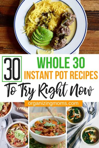 Amazing Whole 30 Instant Pot Recipes To Try Right Now