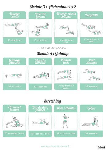 Programme Fitness Full Body n°2