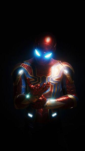 Iron spiderman #marvel #spiderman #infinitywar