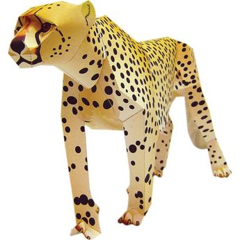 Cheetah,Animals,Paper Craft,Africa / Middle East,Mammals ,Endangered species,Animals,cat,Carnivores,Paper Craft