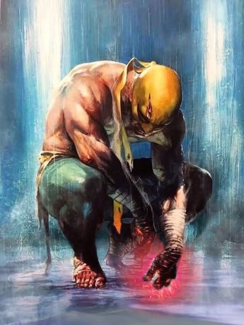 Marvel Comics. Comic Book Artwork • Iron Fist by Gabriele Dell'Otto. Follow us for more awesome comic art, or check out our online store www.7ate9comics.com