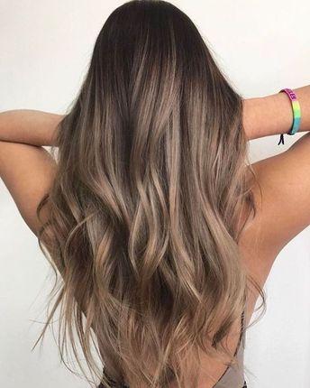 44 Gorgeous Hair Color Idea That Will Inspire You, Hair highlights for brown hair , hair highlights blonde,hair highlights #haircolor #brownhair