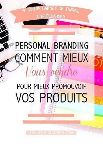 Management : Personal branding : comment mieux se vendre pour promouvoir ses produits - InfographicNow.com | Your Number One Source For daily infographics & visual creativity