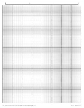 printable graph paper for journalling and doodling and