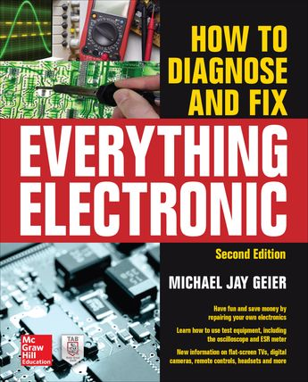 How to Diagnose and Fix Everything Electronic  Second Edition (eBook)