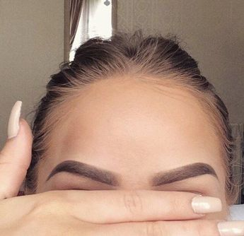 When you get your eyebrows just perfect.