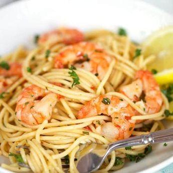 Easy Shrimp Scampi Recipe - Spend With Pennies