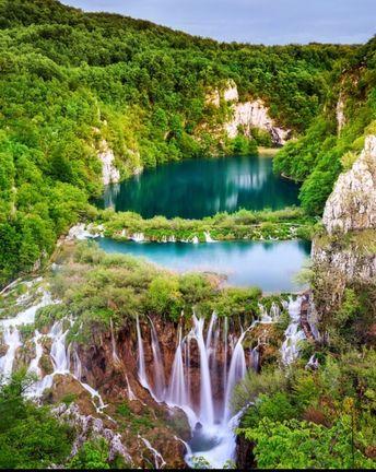 Plitvice Lakes National Park, Plitvički Ljeskovac, Croatia — by Robert Bilos