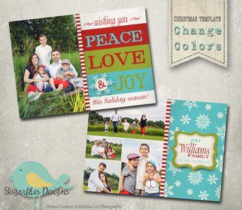 holiday christmas card templates christmas trifold 8 0