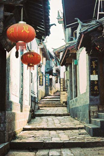 Lijiang Old Town Hutong
