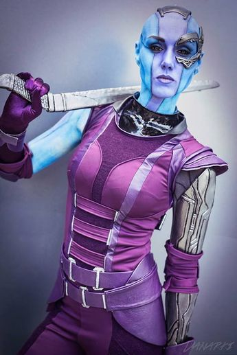 Nebula--GotG cosplay. I knew it was only a matter of time until someone finally did it.
