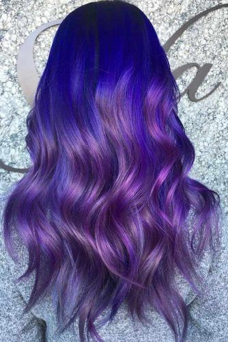 70 Tempting and Attractive Purple Hair Looks | LoveHairStyles.com
