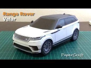 Yoshiny's Design: Range Rover Velar PaparCraft