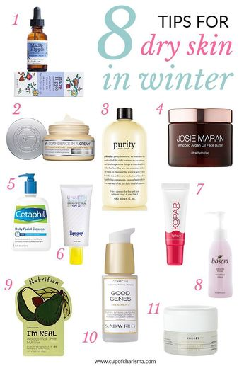 8 Tips for Dry Skin in the Winter