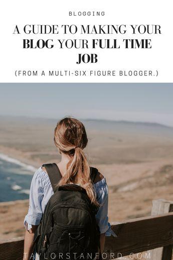 How I Make a full-time income per blogging. How to Make Money Blogging: 7 Strategies that Help Me Make a Full-Time Income from Home with my blog. #blogging #bloggingtips #startablog