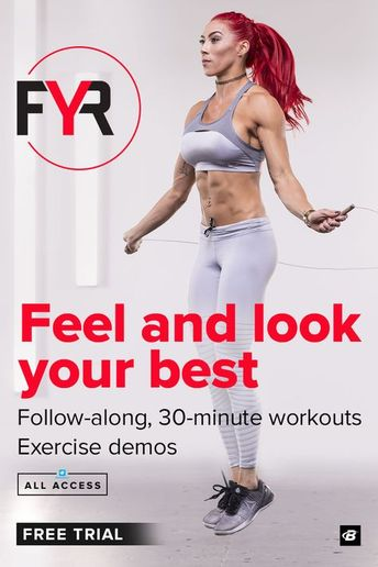 30 minute, high-intensity workouts designed to make you sweat! With your All Access subscription, you'll get FYR, plus 50+ other fitness plans.