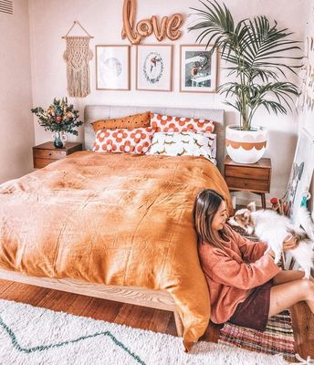 39 Bohemian Bedroom Decor for Small Space