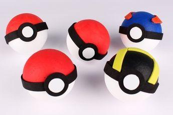 Fabriquer une Pokéball - Activités enfantines