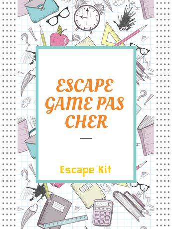 Découvrez comme faire un Escape Game pas cher. Escape Game à petit budget pour des grands groupes.  Escape Room gratuit.