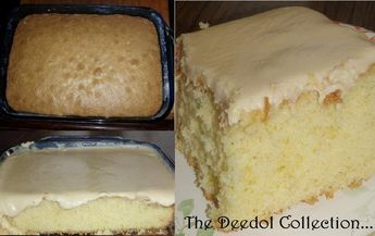 Granny's Old Fashioned Butter Cake with Butter Cream Frosting