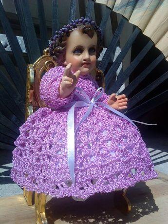 Crochet Vestido Niño Dios