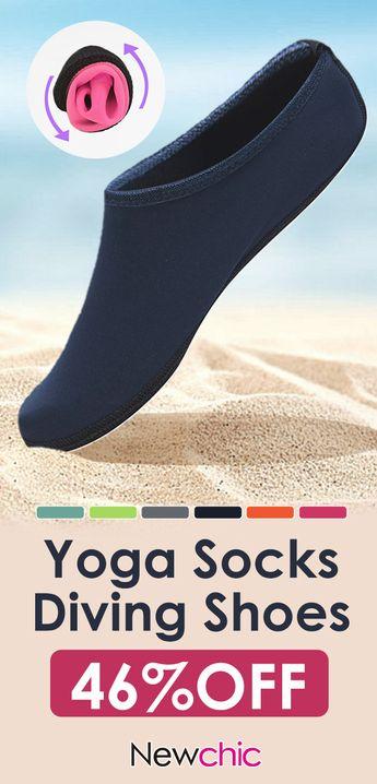 Men Women Non-slip Comfortable Socks Beach Socks Yoga Socks Outdoor Quick-drying Diving Shoes