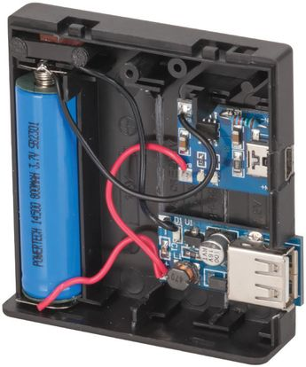 Lithium Battery USB Charger | Jaycar Electronics